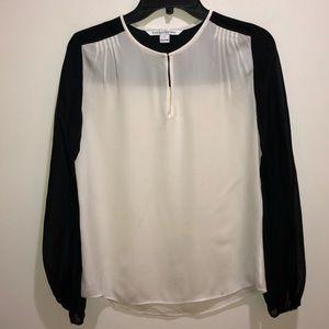 DVF Diane Von Furstenberg Size 0 Silk Blouse